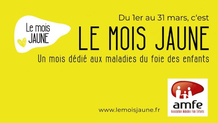 Débutons le #mois jaune pour soutenir l'AMFE