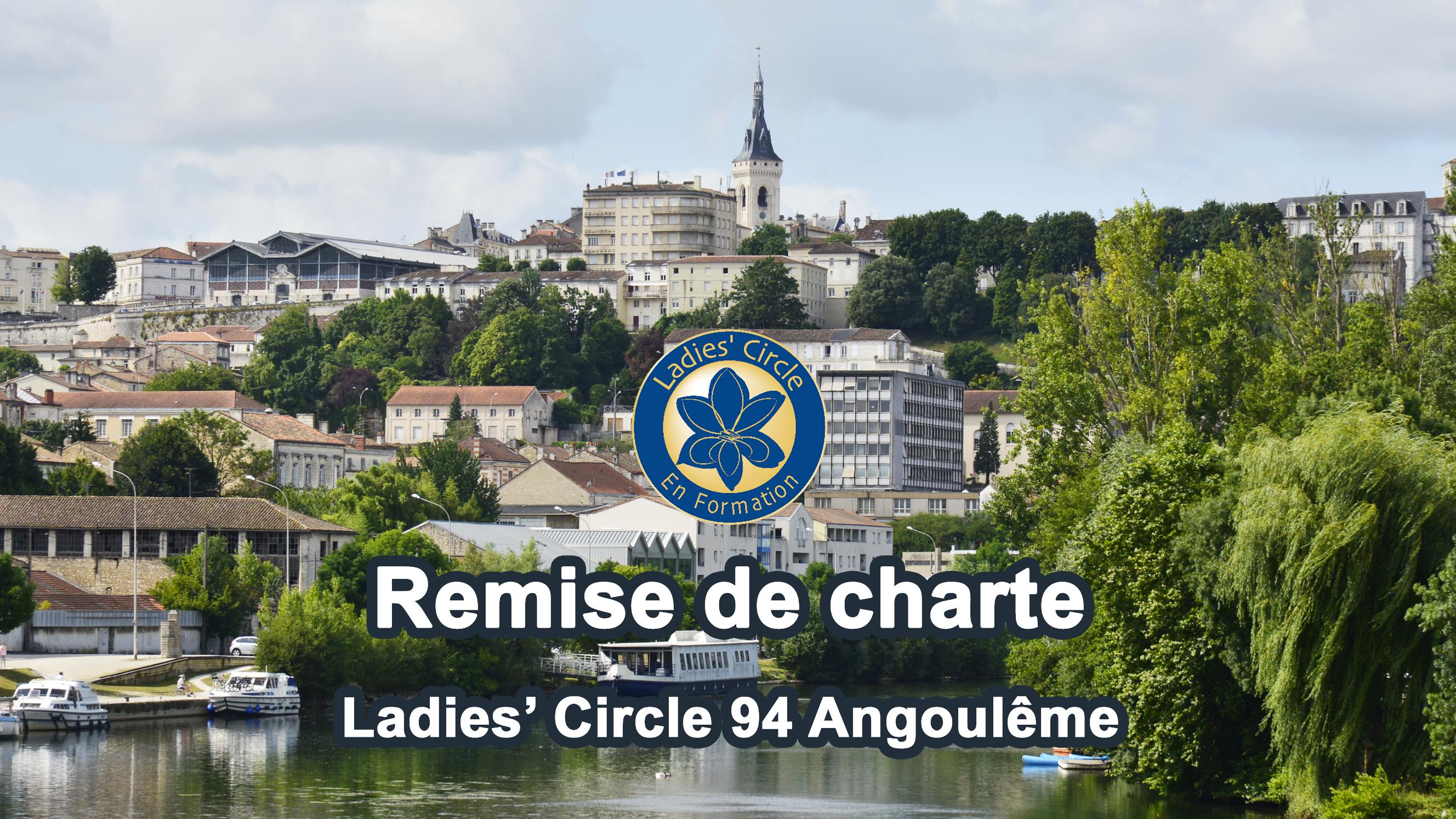 Ladies' Circle France - remise de charte Angoulême