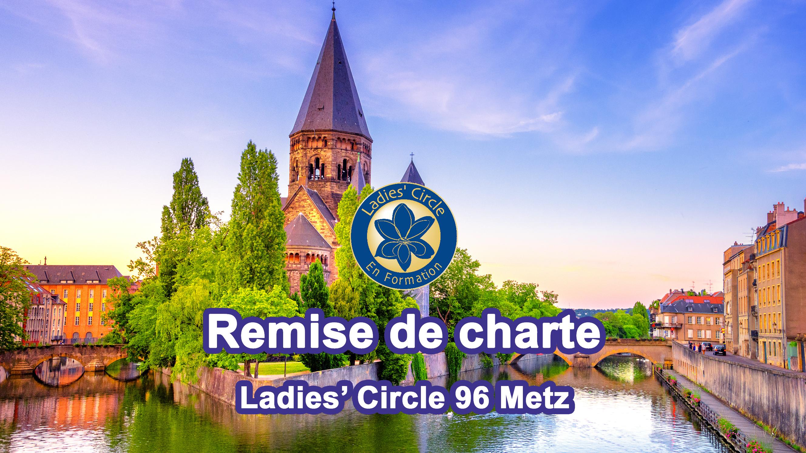 Remise de charte Ladies' Circle 96 Metz