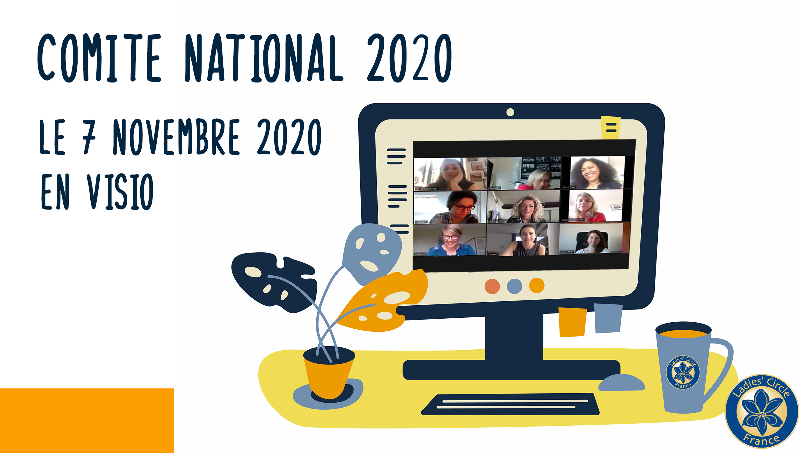 Un comité national en visio