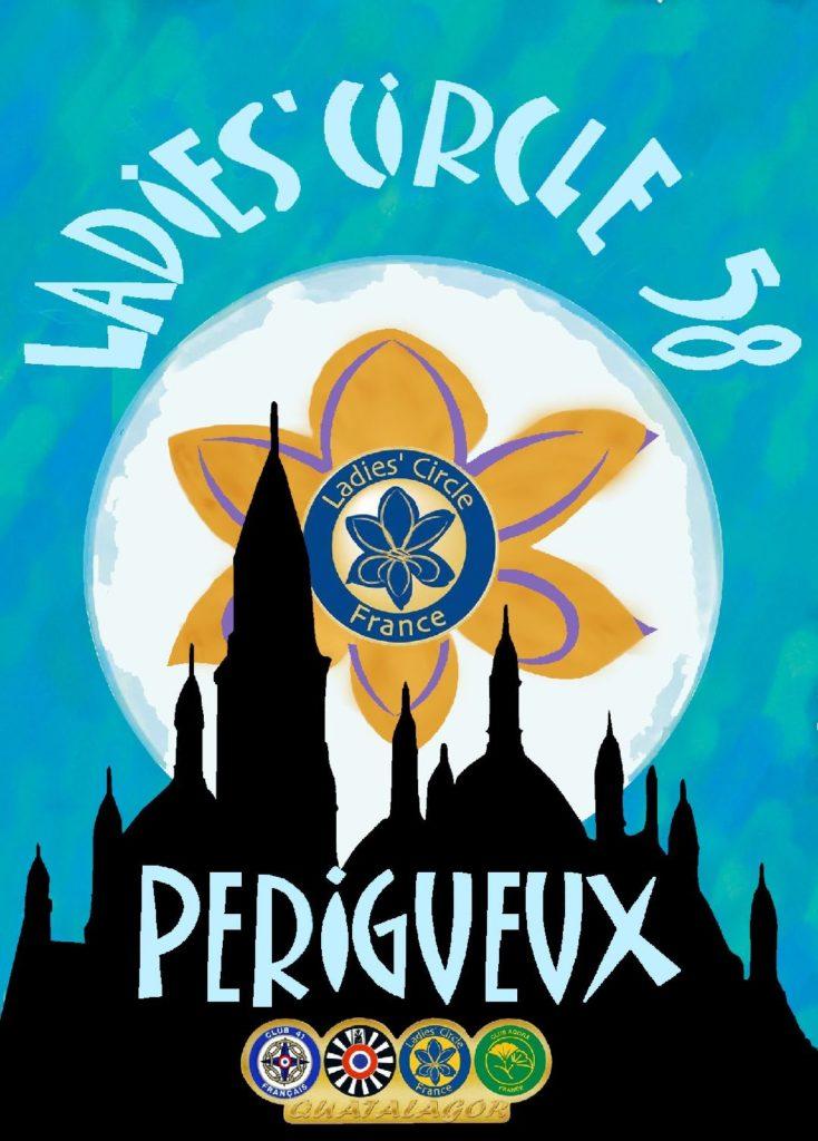 Ladies' Circle 58 Périgueux - Logo