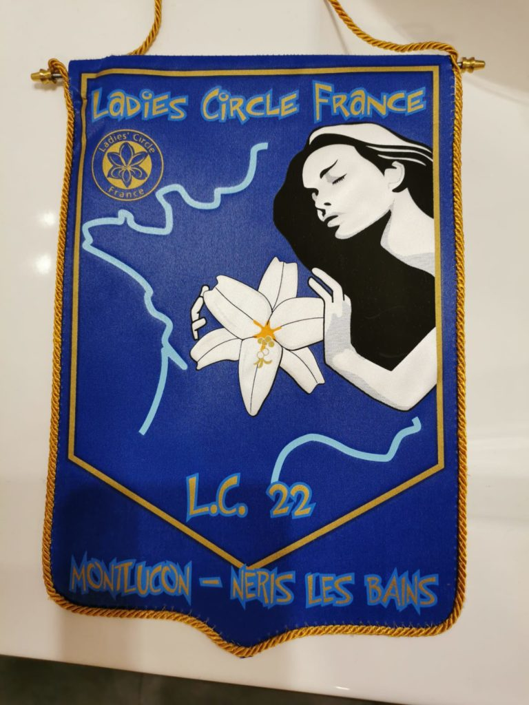 Ladies' Circle 22 Montluçon - fanion