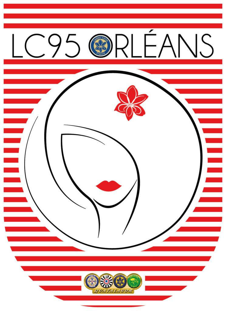 Ladies' Circle 95 Orléans - fanion