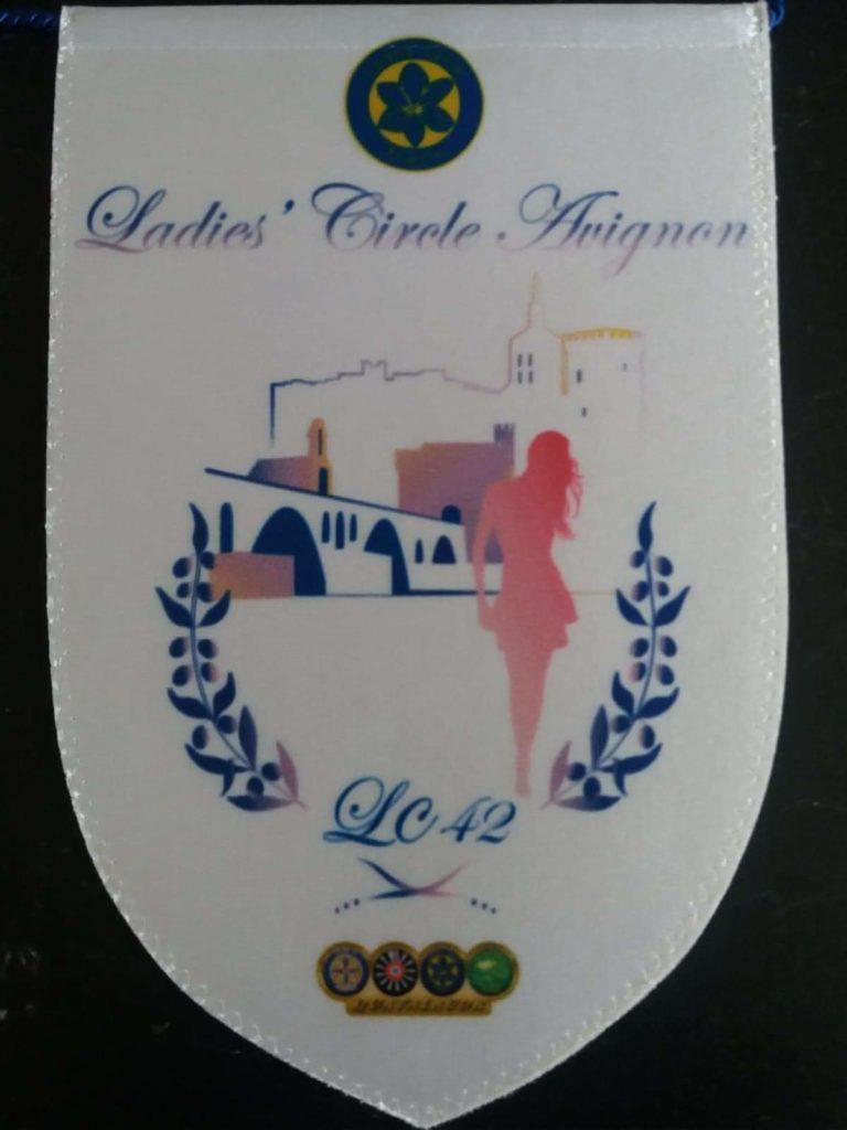 Ladies' Circle 42 Avignon - Fanion