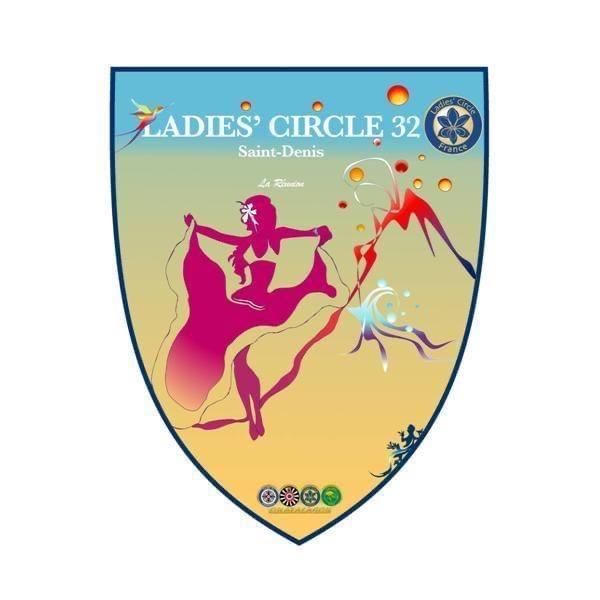 Ladies' Circle 32 st denis de la réunion - fanion