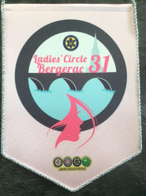 Ladies' Circle 31 Bergerac - fanion