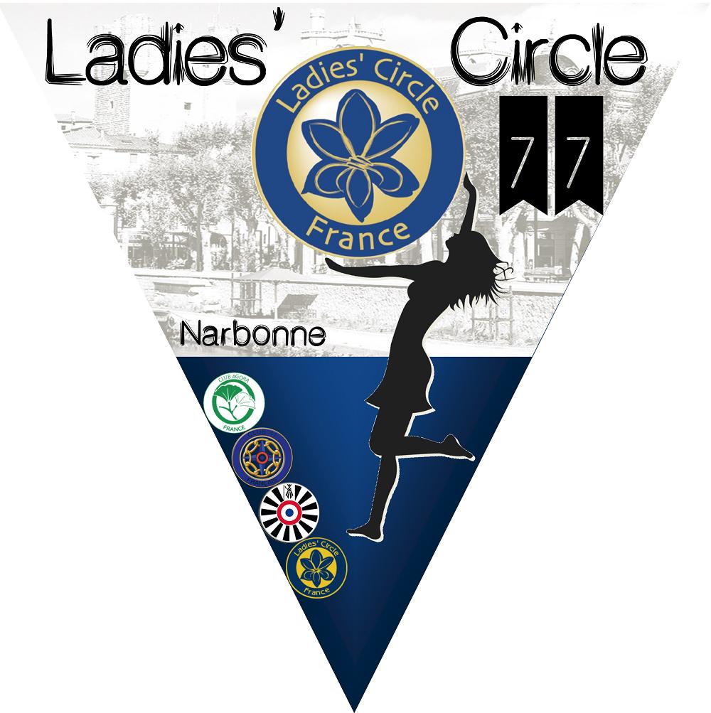 Ladies' Circle 77 narbonne - fanion