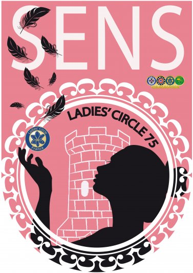Ladies' Circle 75 Sens - Fanion
