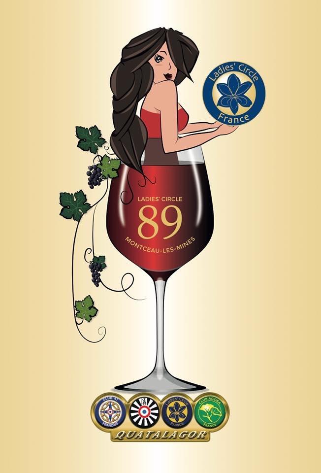 Ladies' Circle 89 Montceau - Logo