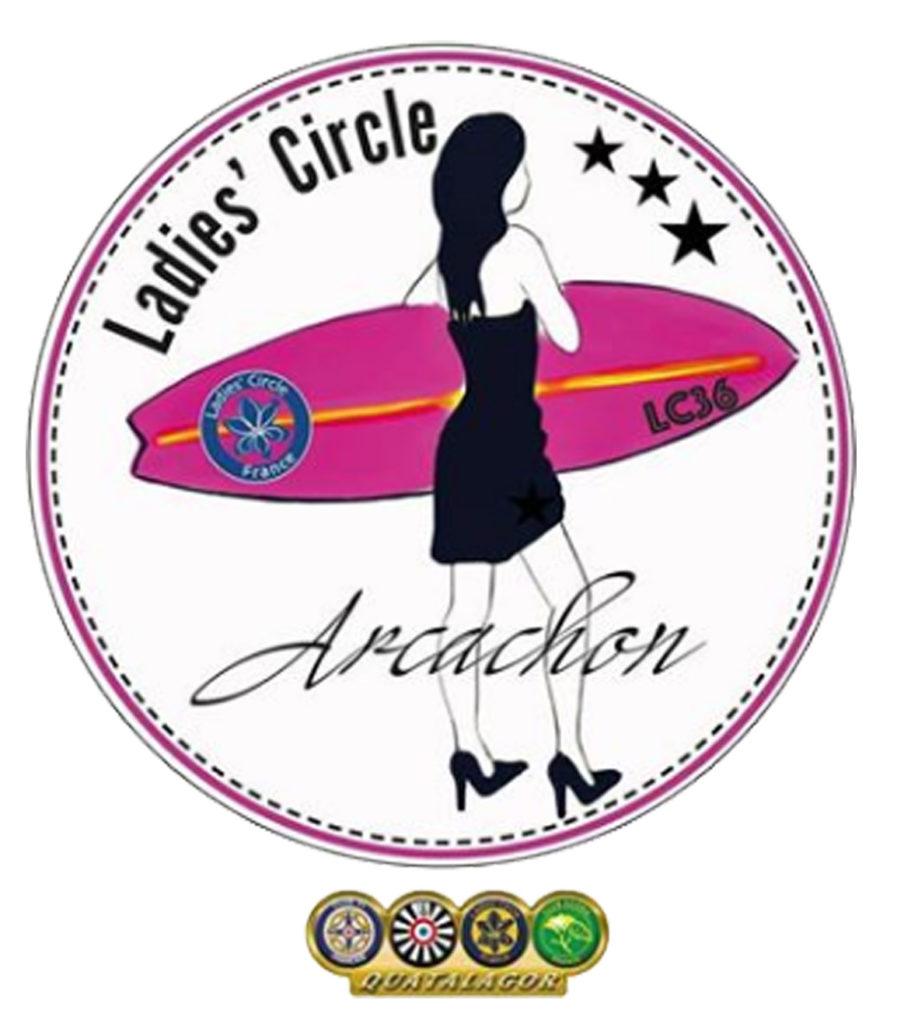 Ladies' Circle 36 Arcachon- Logo