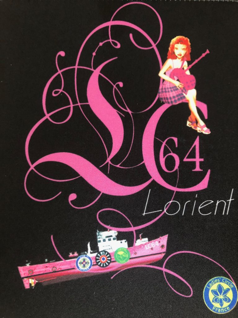 Ladies' Circle 64 Lorient - fanion