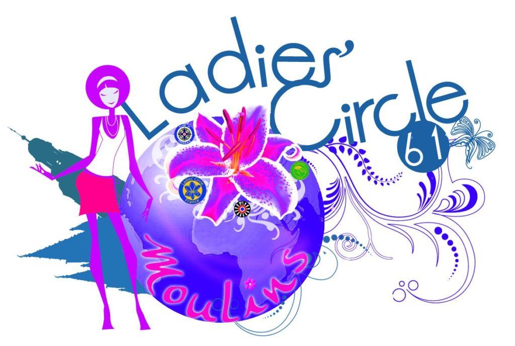 Ladies' Circle 61 Moulins - Logo