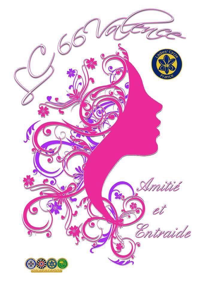 Ladies' Circle 66 Valence - logo